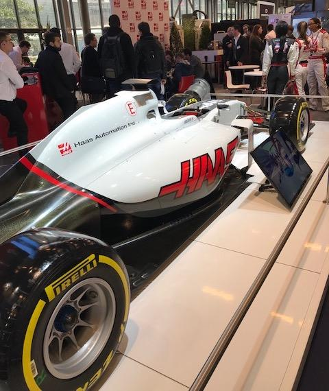 Formule 1 Salon du MIDEST 2018